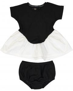 Little Cocoon Baby Girls Knit Combo Outfit - TD2192