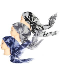 Lizi Womens Pre-Tied Bandana - Tie Dye