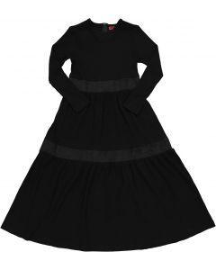 Lola Girls Ribbed Tiered Robe - W1P5715