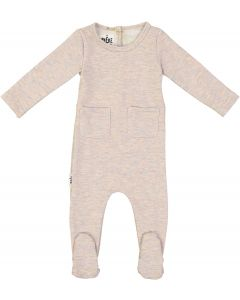 Maniere Baby Girls Sparkle French Terry Stretchie - SFFW20