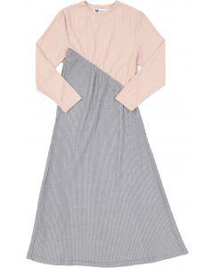 Martino Girls Ribbed Lurex Robe - PS05B