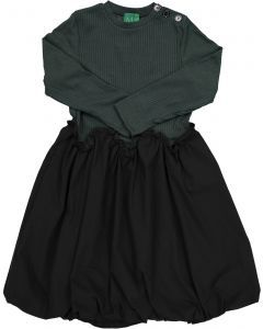 MEME Girls Ribbed Gathered Dress - M5029