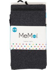 Memoi Girls Heather Opaque Tights 2 Pack - MKB-133