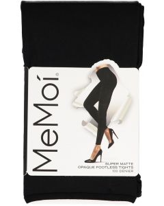 Memoi Womens Super Matte 100 Denier Opaque Footless Tights - MO-344