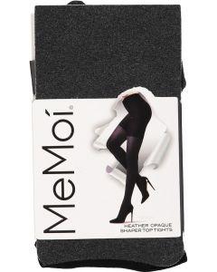 Memoi Womens Heather Tights w/Shaper Top - MO-387