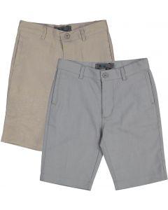 Mocha Noir Boys Dress Shorts - SA9CP840B