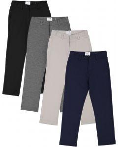 Mocha Noir Boys Stretch Dress Pants - SB0CP305