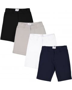 Mocha Noir Boys Stretch Dress Shorts - SB0CP305S