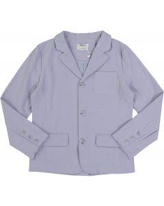 Mocha Noir Boys Cotton Linen Blazer - SB0CP4201C