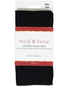 Mod & Tone Womens 60 Denier Tights - 6020