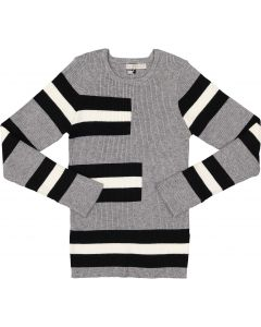 N° 18 Kids Boys Ribbed Striped Sweater - WB0CY1319