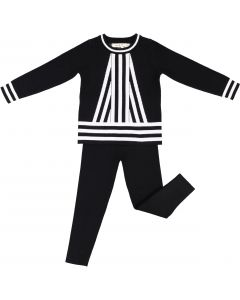 Neuf 9 Baby Boys Girls Unisex Center Stripe Outfit - WB0CP4235B