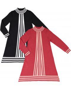 Neuf 9 Girls Center Stripe Dress - WB0CP4235D