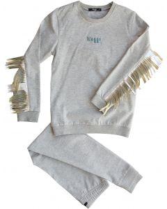 Noggi Boys Cotton Vee Fringes Pajamas - 210115-970