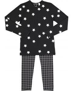 Peek-A-Boo Boys Girls Unisex Star Cotton Pajamas - SB0CY1162P