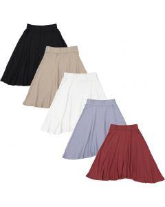 Peek-A-Boo Girls Ribbed Skirt - WB0CY1317S