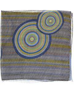 Riqki Open Bullseye Mandala Israeli Tichel - Y1976-OPEN