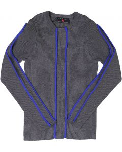 Samuel Jr Boys Ribbed Piping Sweater - WA9CY1072