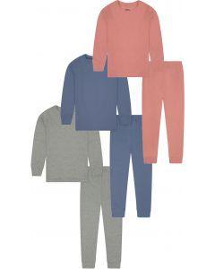 Shinu Unisex Cotton Pajamas - Solid