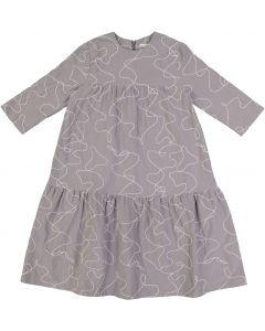Slice Girls Embroidered Cotton Dress - SB0CY1236D