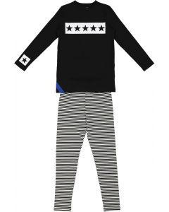 Smile Everyday Boys 5 Star Cotton Pajamas - 2726 - Star