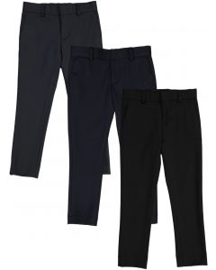 T.O. Collection Boys Flat Front Stretch Skinny Fit Dress Pants - A78093
