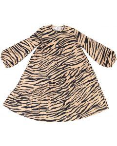 The Umbrella Academy Girls Ribbed Tiger Print Dress - W0Y2421D