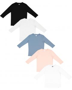 Three Bows Womens 3/4 Sleeve T-shirt - Classic