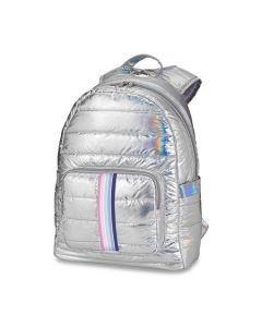 Top Trenz Striped Strap Puffer Backpack - BP-PUFI-SWEET
