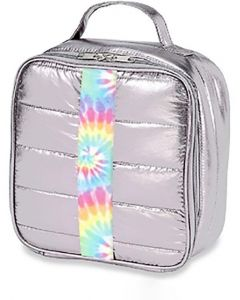 Top Trenz Puffer Tie Dye Strip Insulated Lunch Box - LB-PUFV2TD