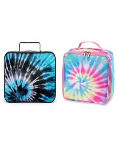 Top Trenz Tie Dye Insulated Canvas Lunch Bag - LB