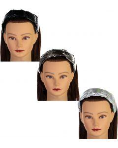 Top Trenz Girls Metallic Puffer Headband - PUFFERHB6
