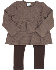 Whitlow & Hawkins Baby Girls Textured Outfit - 218002