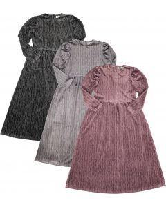 ZigZag Girls Puff Sleeve Velour Robe - 245