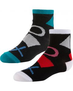 Zubii Boys Burst of Shapes and Color Ankle Socks - 692