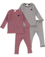 Analogie by Lil Legs Baby Unisex Outfit - Marled