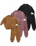 Analogie by Lil Legs Baby Unisex Outfit Set - Velour