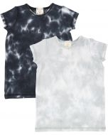 Analogie by Lil Legs Boys Short Sleeve V-Neck T-shirt - Watercolor
