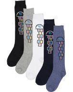 BlinQ Girls Hopscotch Knee Socks - 301