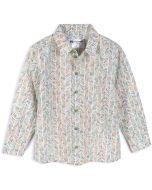 Buttonup by iKippah Boys Long Sleeve Dress Shirt - Striped