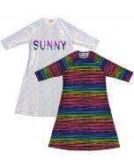 Child Play Girls Cover-up Swim Dress - 9970