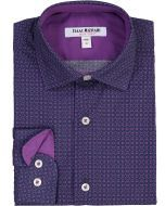 Isaac Mizrahi Boys Long Sleeve Dress Shirt - SH9594