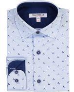 Isaac Mizrahi Boys Long Sleeve Dress Shirt - SH9616