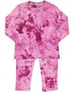 Kokao Girls Tie Dye Cotton Pajamas - D76PG