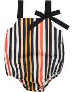 Neuf 9 Girls Striped Romper - SB1CP4367G