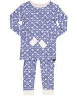 Sweet Bamboo Boys Geo Grid Bamboo Cotton Pajamas - GGB
