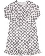 Sweet Bamboo Girls Scribble Hearts Bamboo Cotton Nightgown - SHCH