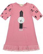 Teela Girls Cotton Watch Nightgown - PJSS20-6