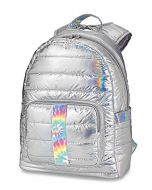 Top Trenz Metallic Puffer Tie Dye Strip Backpack - BP-PUFV2TIEDYE