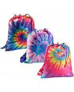 Top Trenz Spiral Tie Dye Puffer Sling Backpack - SLING-TDYE3